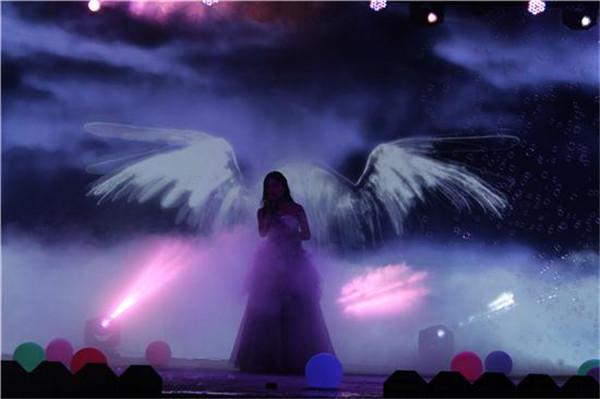女声独唱《隐形的翅膀》